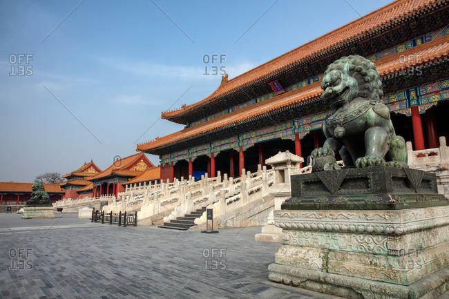 September 11, 2019: The gate of Beijing the imperial palace