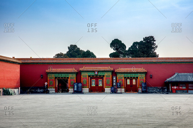 September 11, 2019: Jewelry of Beijing the imperial Palace Museum