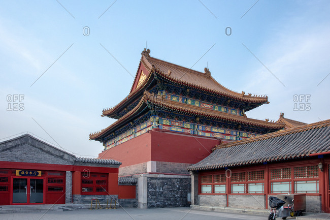 September 11, 2019: Beijing the imperial palace restaurant