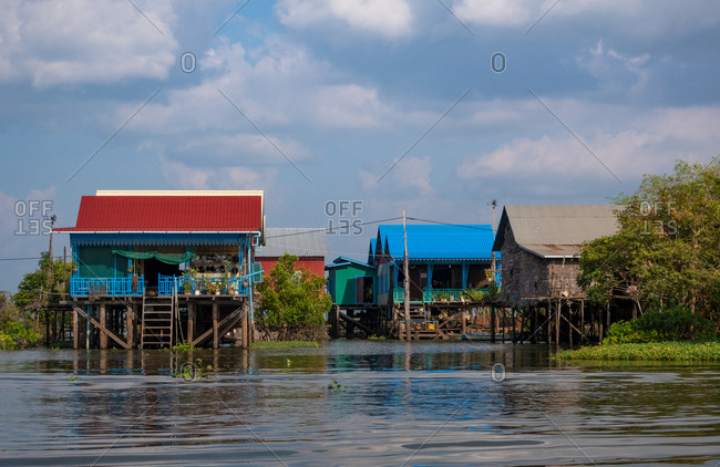 Tonle Sap Lake Lower Mekong Basin, Cambodia