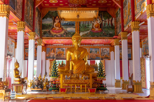 November 4, 2018: Wat Si Saket, Vientiane, Laos