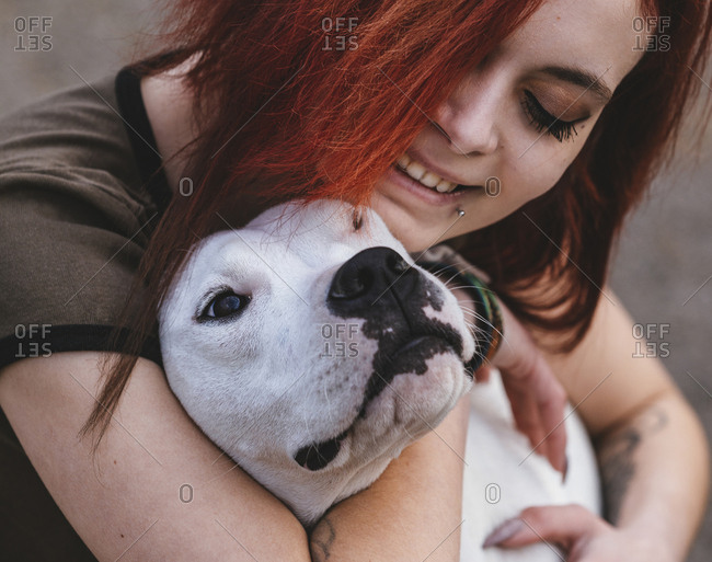 Dog and his owner - real love