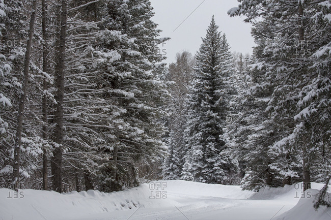 Winter driving in southwest colorado