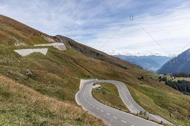 The highest mountain road in Austria, Grossglockner High Alpine Road, Margaritzenstausee, Austria