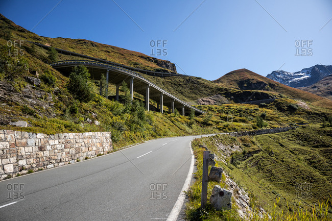 Grossglockner High Alpine Road, the highest mountain road in Austria