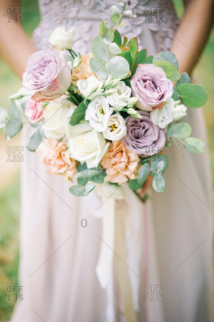 Pastel flowers from the Offset Collection