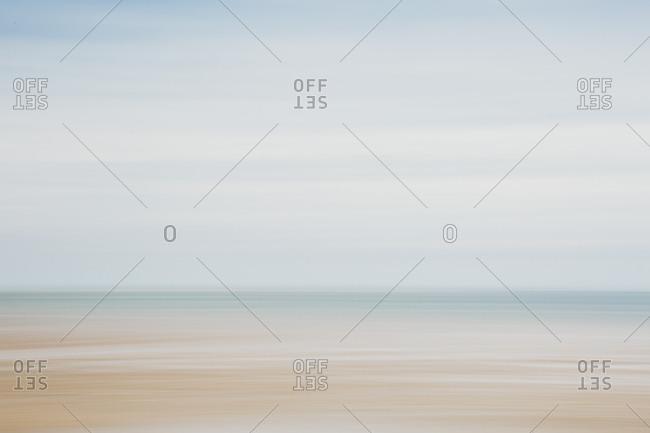 Abstract Coastal View