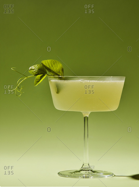 Green chartreuse cocktail