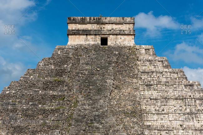 Mayan pyramid of Chichen Izta in Yucatan, Mexico