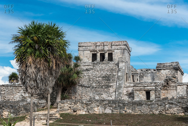 Views of the Yucatan Ruins of Tulum in Mexico