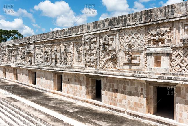 Ruins of Uxmal in Yucatan, Mexico