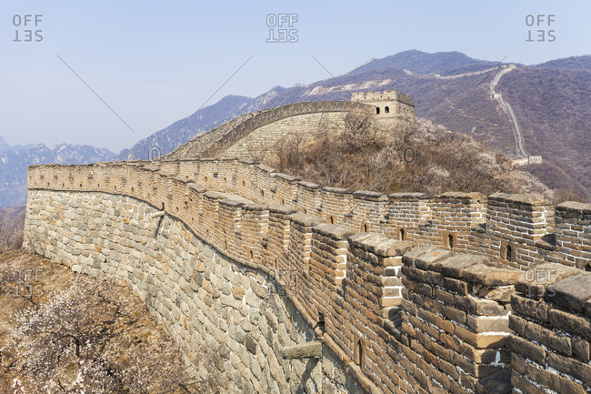 Beijing landscape arrow buttons the Great Wall