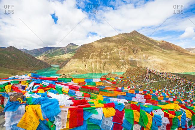 September 23, 2019: Tibet's natural scenery