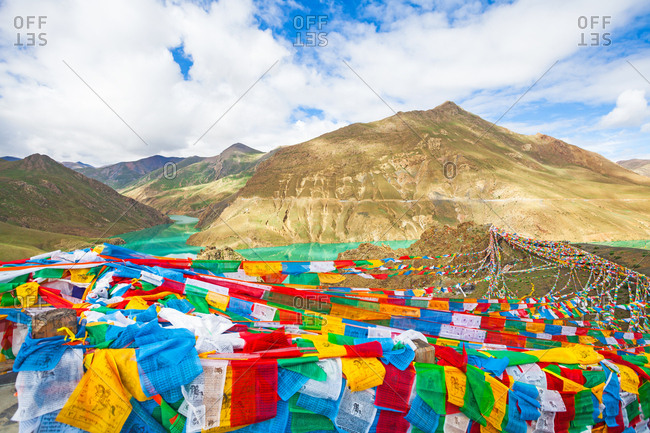 September 23, 2019: Tibet's natural scenery