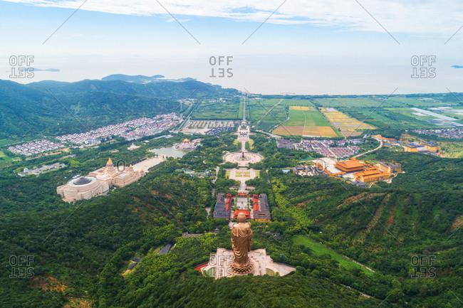 Wuxi lingshan scenic spot scenic landscape