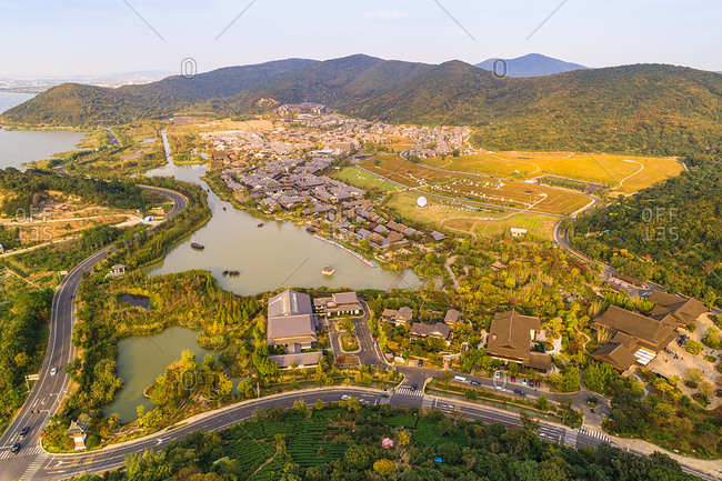 Wuxi gently bay scenic landscape
