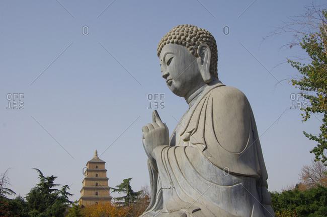 Xi 'an wild goose pagoda