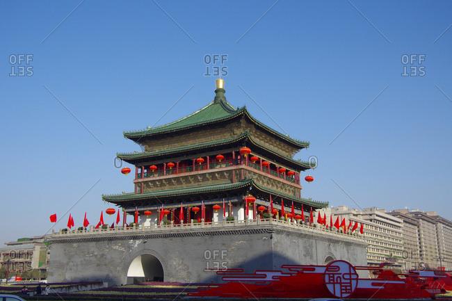 September 23, 2019: Xi 'an bell tower