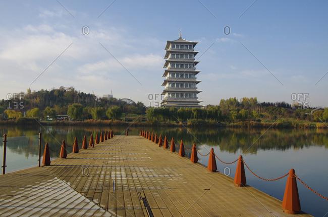Shaanxi xi 'an expo garden changan tower