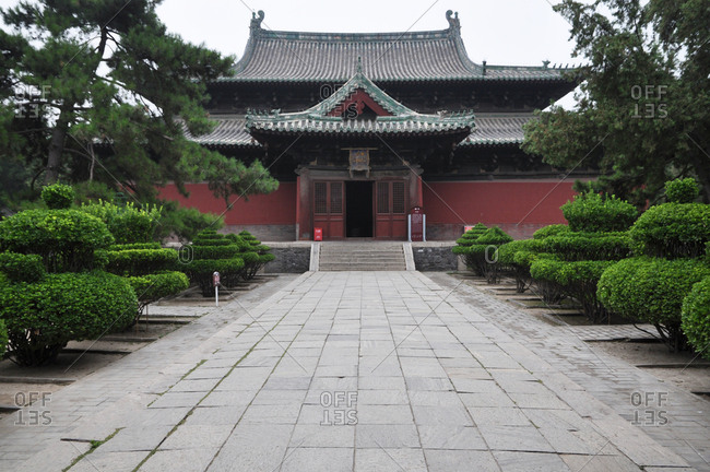 Hebei positive definite lung hing temple (Jinzhou would)