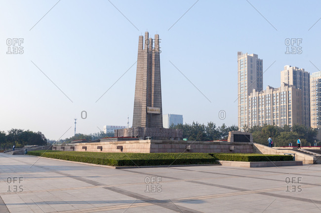 September 23, 2019: Hebei tangshan earthquake monument