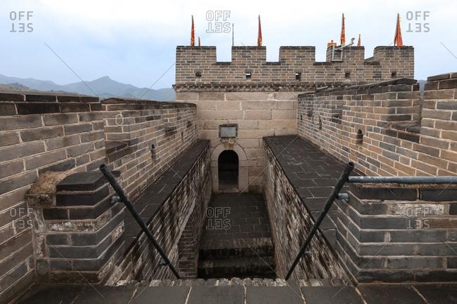 Beijing huairou huanghua city great water wall