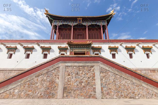 Beijing xiangshan park zhao temple