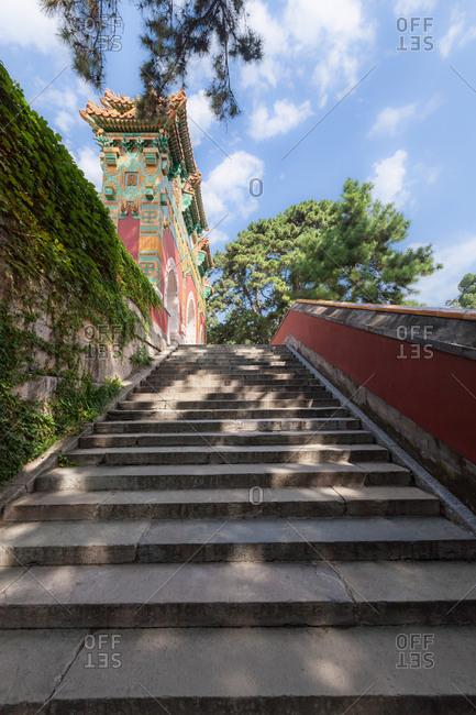 September 23, 2019: Daisho temple xiangshan park in Beijing