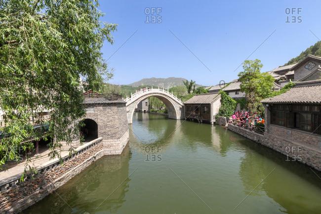 September 23, 2019: Beijing miyun gubei water town