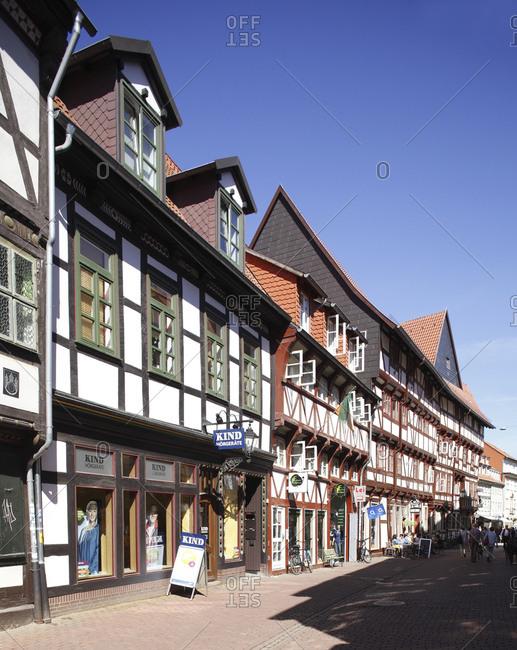 January 1, 1970: Goettingen :  Historische Fachwerkhuser in der Kurzen Strae