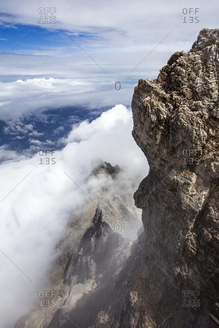 Der JubilumsgratWeg von der Alpspitze zur Zugspitze,