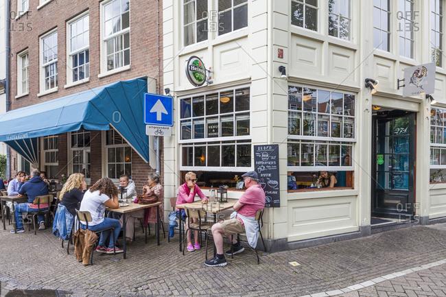 January 1, 1970: Niederlande, Amsterdam, Prinsengracht, Restaurant Grill  Bar Venus & Adonis