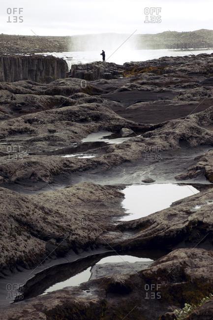 Selfoss, Wasserfall, Island, Landschaft