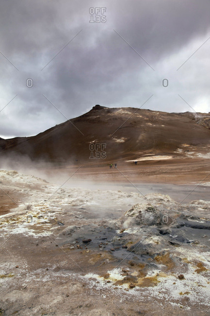 Nmafjall, Berg, Vulkan, Island