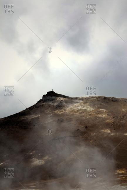 Nmafjall, Berg, Vulkan, Island, Landschaft