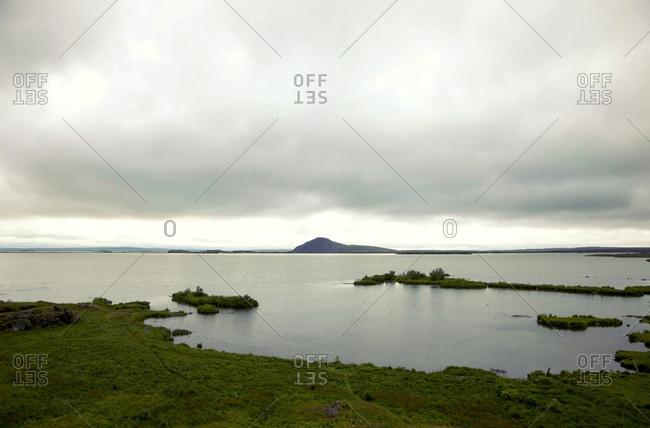 Mvatn, See, Island, Landschaft