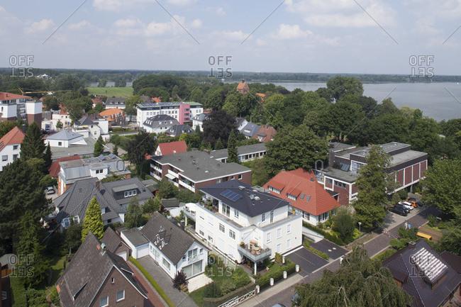 Deutschland, Niedersachsen, Bad Zwischenahn, Moderne Wohnhuser