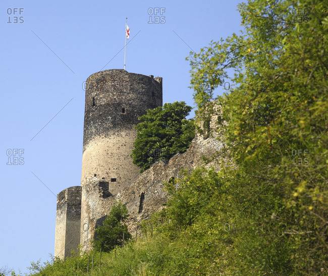 Burg Landshut, Bernkastel-Kues, Rheinland-Pfalz, Deutschland