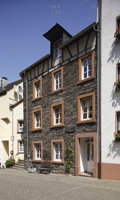 January 1, 1970: Rmerstrae, Altes Haus in der Altstadt von Bernkastel, Bernkastel-Kues, Rheinland-Pfalz, Deutschland