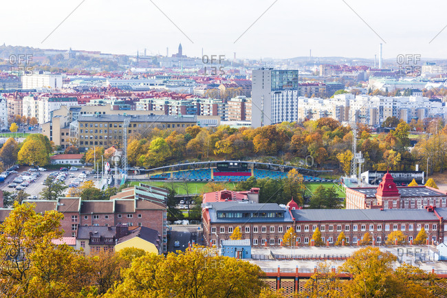 copenhagen - October 27, 2015: Cityscape