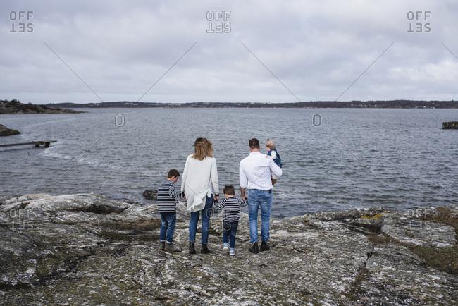 Family at sea