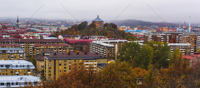 copenhagen - October 27, 2015: View of Gothenburg, Sweden