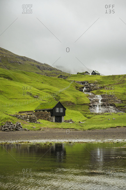 House at water