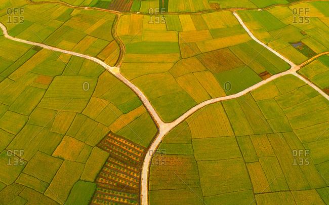 Guangxi guilin pastoral scenery