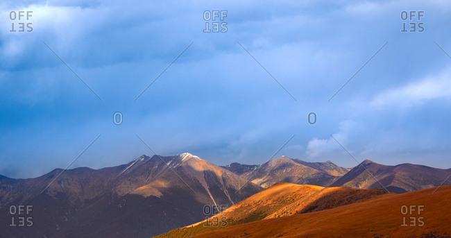Sichuan province DaoChengYa scenery