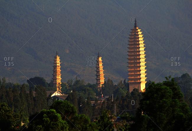 Yunnan Dali three towers