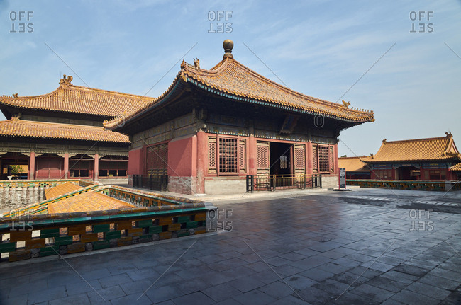September 23, 2019 China: The Forbidden City and it's architecture