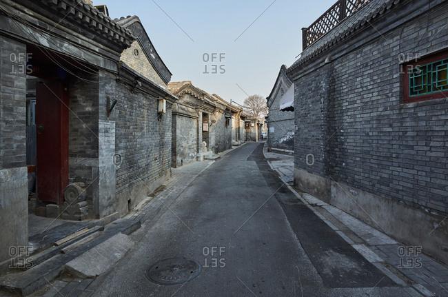 Quadrangles in Beijing hutong