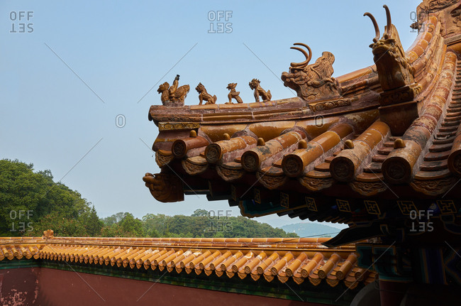 The Summer Palace in Beijing scenery