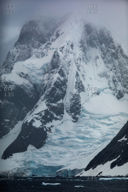 Icebergs, Antarctica from the Offset Collection